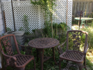 277 Sixth St Bistro Set