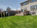 99B Evans Ave. For Sale Mimico Etobicoke Backyard